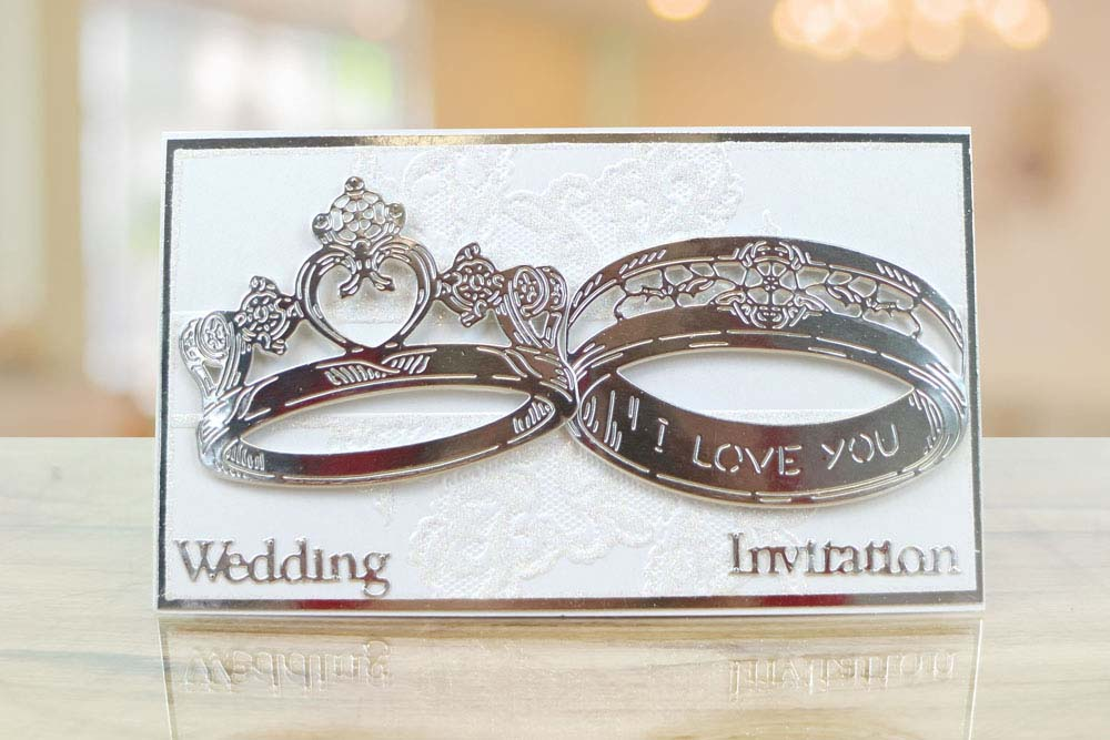 Giant Wedding Rings 440851 Tattered Lace