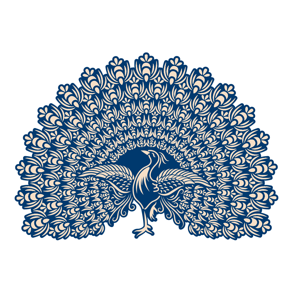 Whitework Lacy Peacock Tld0162 Tattered Lace