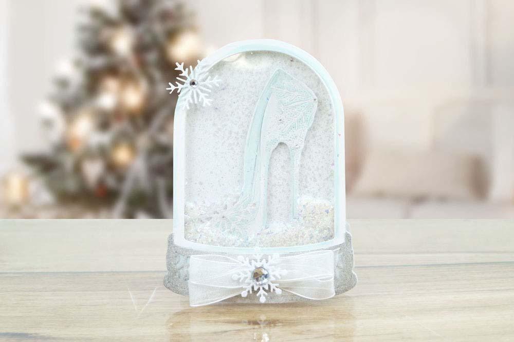 Snowflake Slipper Tld0540 Tattered Lace