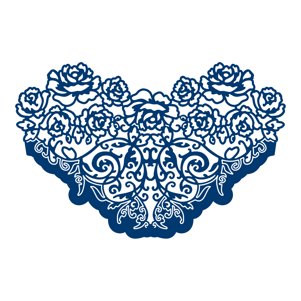 Rose Ornate  D202. Tattered Lace Dies   Tattered Lace