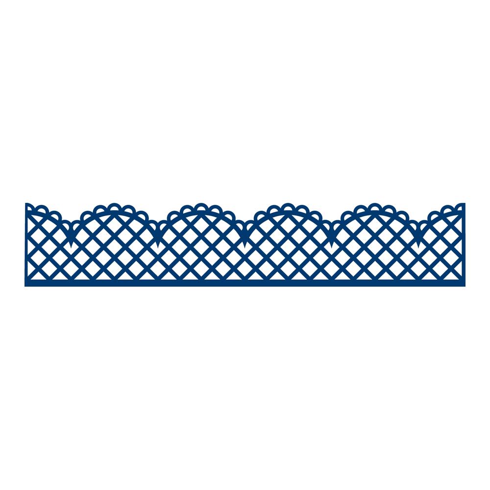 Trellis Border D472 Tattered Lace
