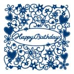 Happy Birthday Tapestry (D490)