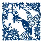 Hummingbird Tapestry (D491)