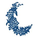 Floral Crescent (D497)