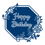 Happy Birthday Starlight Plaque (D591)