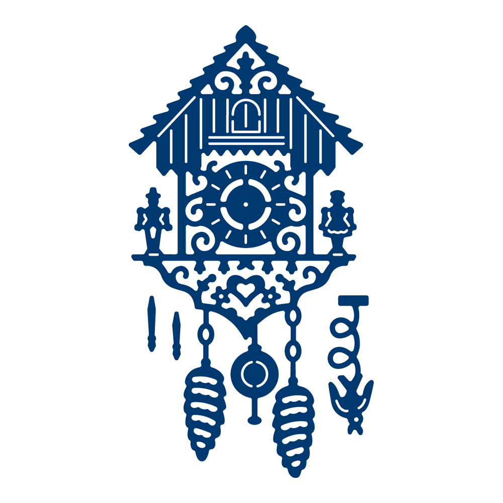 Image result for tattered lace cuckoo clock