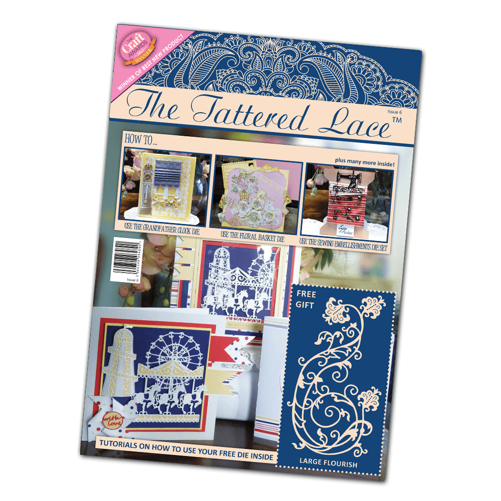 Image result for tattered lace magazine issue 6