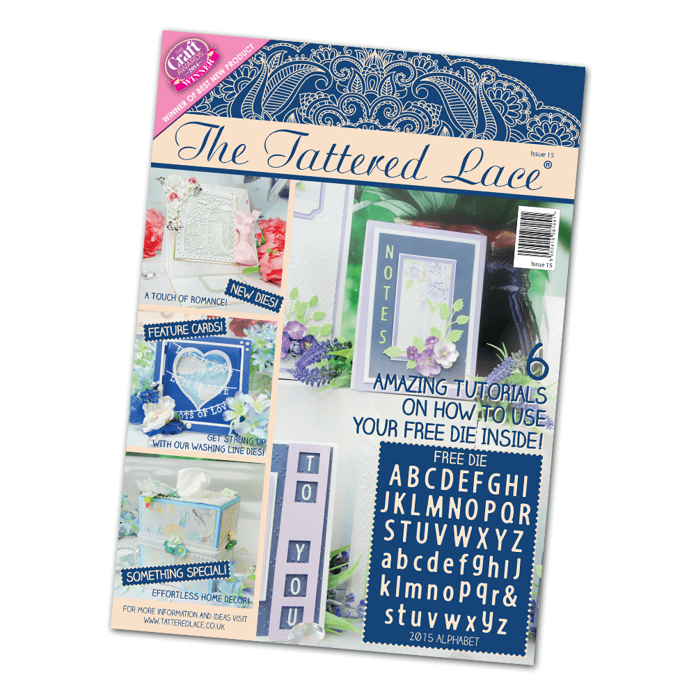 Image result for tattered lace magazine issue 15