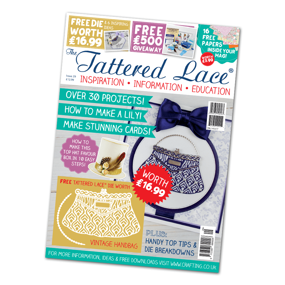 Image result for tattered lace magazine 29